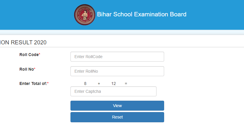Bihar Board 12th Result 2020