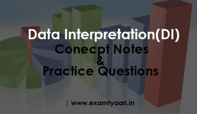 Free Concept Notes Shortcuts Tricks & Practice Exercise Questions Based on Data Interpretation (DI ) - PDF Download - Exam Tyaari