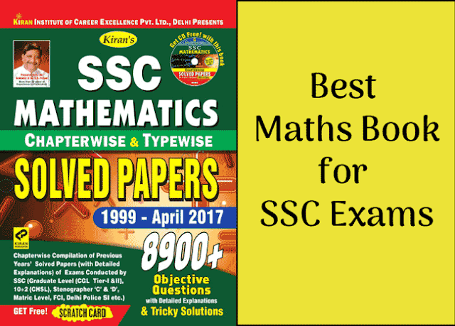 Free-Book: Kiran SSC Maths 8900 Chapterwise Questions [PDF