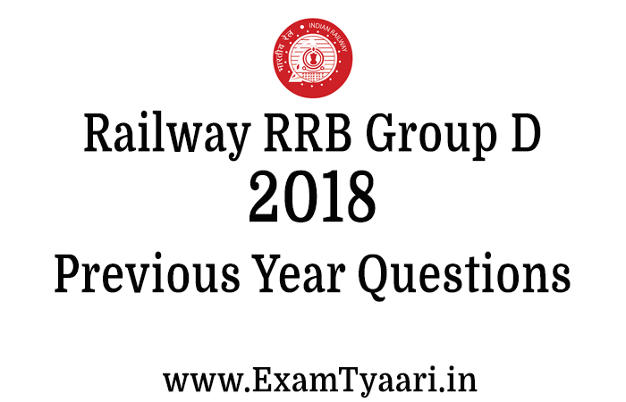 Download RRB Group D 2018 Paper Question PDF in Hindi