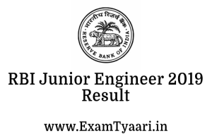 rbi-junior-engineer-result - Exam Tyaari