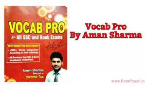 Download Vocab Pro by Aman Vashishth PDF - Exam Tyaari
