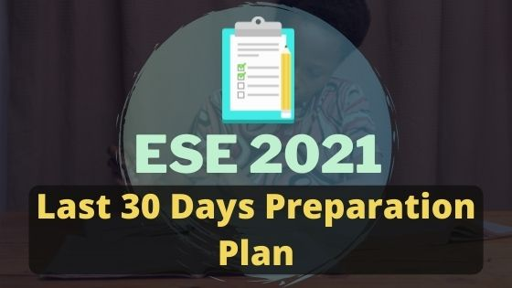 Read more about the article UPSC ESE Prelims | Last 30 days Preparation Plan