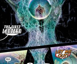 """The First Lantern as seen in the """"Green Lantern Annual"""" #1"""