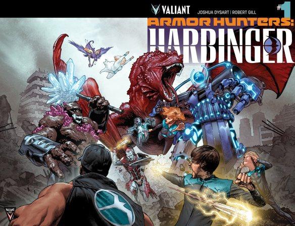 Armor Hunter: Harbinger #1 from Valiant Comics