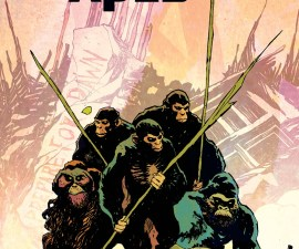 Dawn of the Planet of the Apes #1 from BOOM! Studios