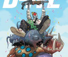 D4VE #1 from IDW Comics