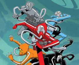 String Divers #1 from IDW Comics - String Theory Made Real!