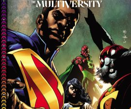 The Multiversity Deluxe Edition HC from DC Comics