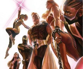 Squadron Supreme #1 from Marvel Comics