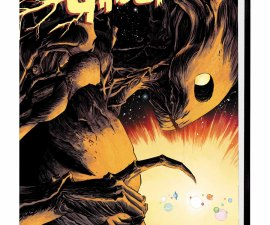 Groot Premiere HC from Marvel Comics