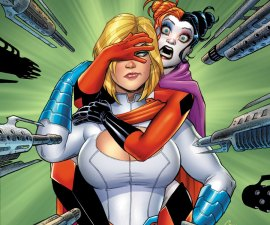 Harley Quinn and Power Girl TP from DC Comics