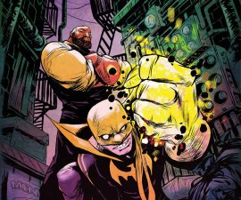 Power Man and Iron Fist #1 from Marvel Comics