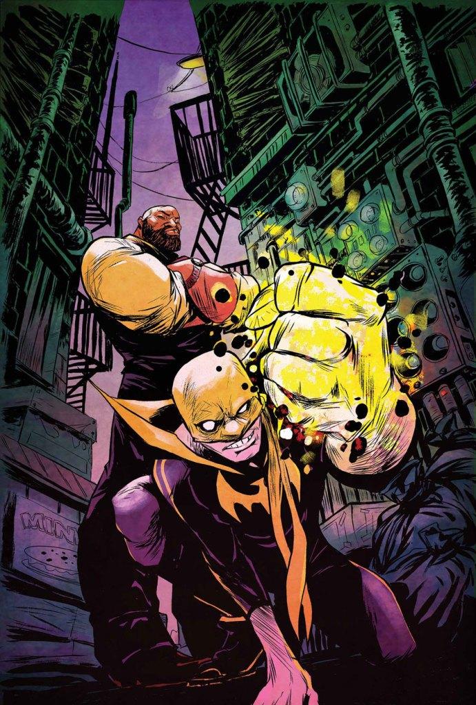 power man and iron fist comic - 691×1024