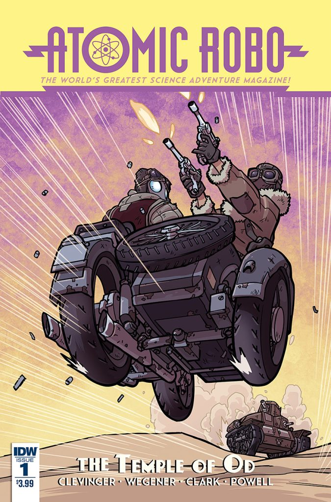 Atomic Robo and the Temple of Od #1 from IDW Comics