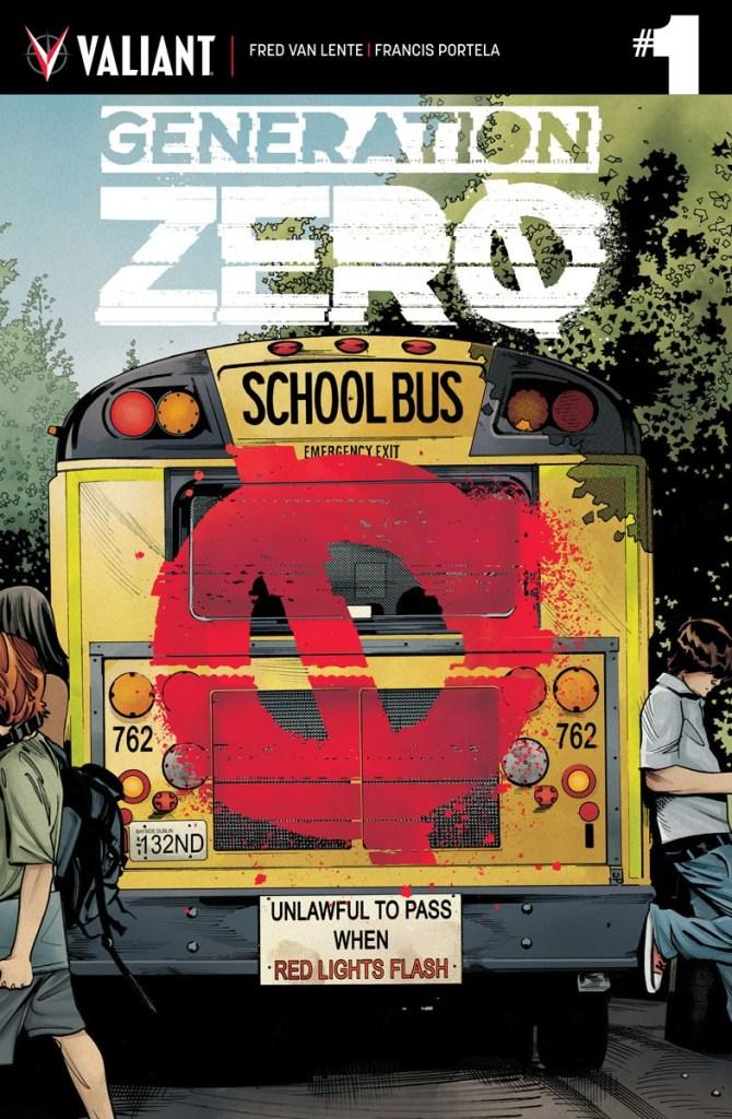 Generation Zero #1 from Valiant Comics