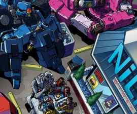 Transformers: More Than Meets the Eye: Revolution #1 from IDW Comics