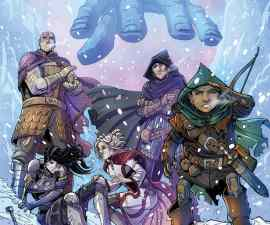 Dungeons & Dragons: Frost Giant's Fury #1 from IDW Comics