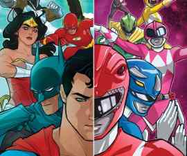 Justice League/Power Ranger #1 from DC Comics
