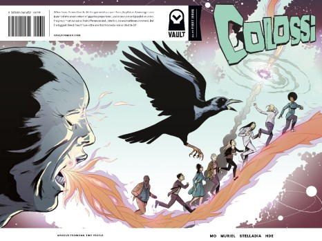 Colossi #1 from Vault Comics