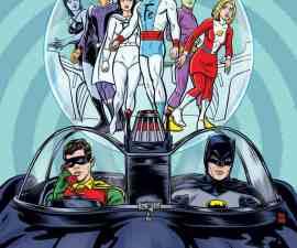 Batman '66/Legion of Super-Heroes #1 from DC Comics