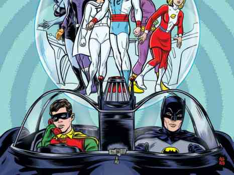 Batman '66/Legion of Super-Heroes #1 from DC Comics
