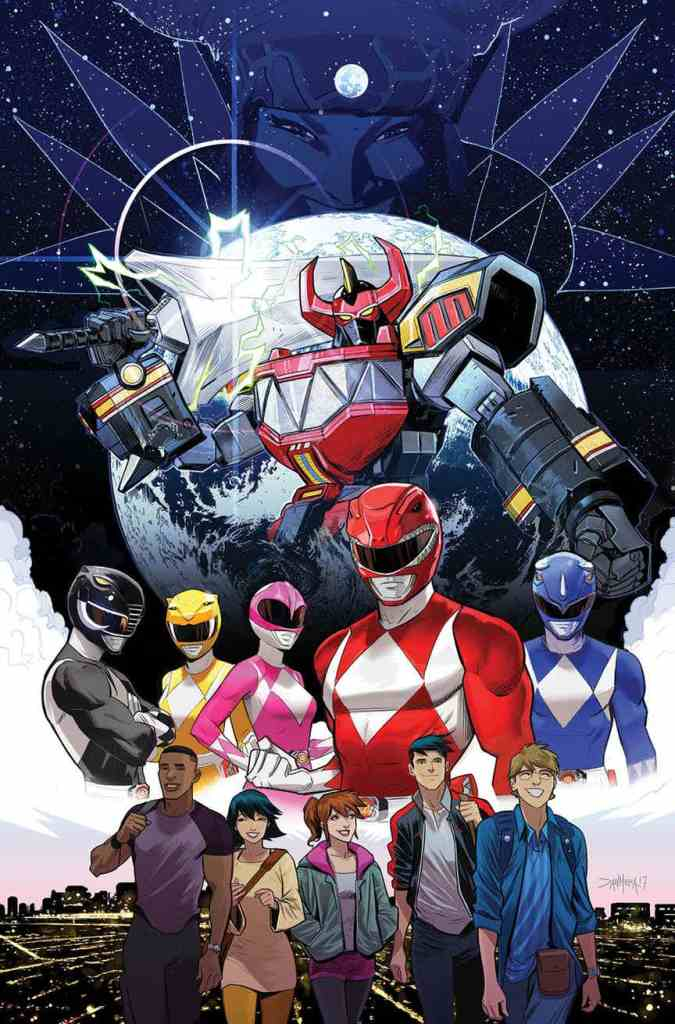 Go Go Power Rangers #1 from Boom Studios