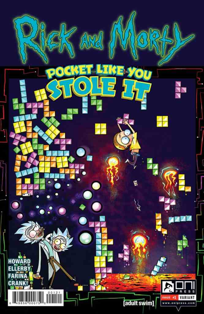 Rick and Morty: Pocket Like You Stole It #1 from Oni Press