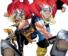 Generations: The Unworthy Thor & The Mighty Thor #1 from Marvel Comics!