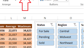 How To Use Report Connections With PivotTables In Excel
