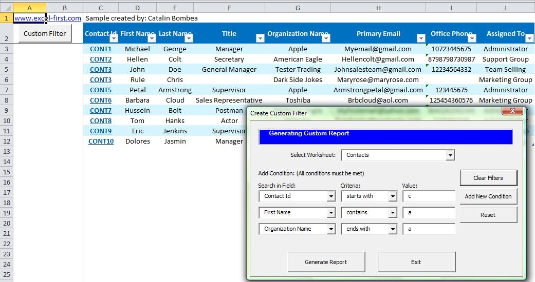 Add New Controls to Excel UserForm - Excel First