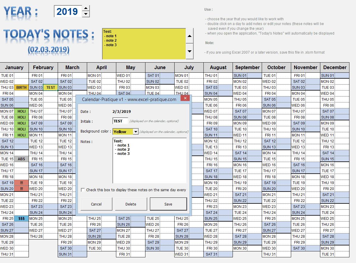 Files From Excel Pratique