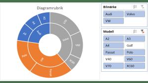 Soldiagram (Sunburst) i Excel  Excelbrevet