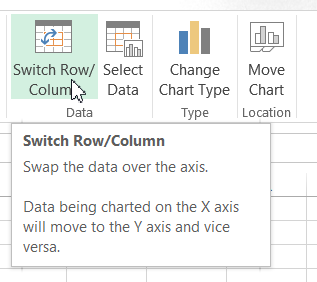 Switch Row Columns Button