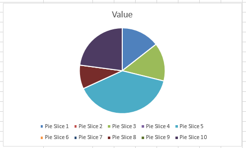How To Easily Hide Zero And Blank Values From An Excel Pie Chart