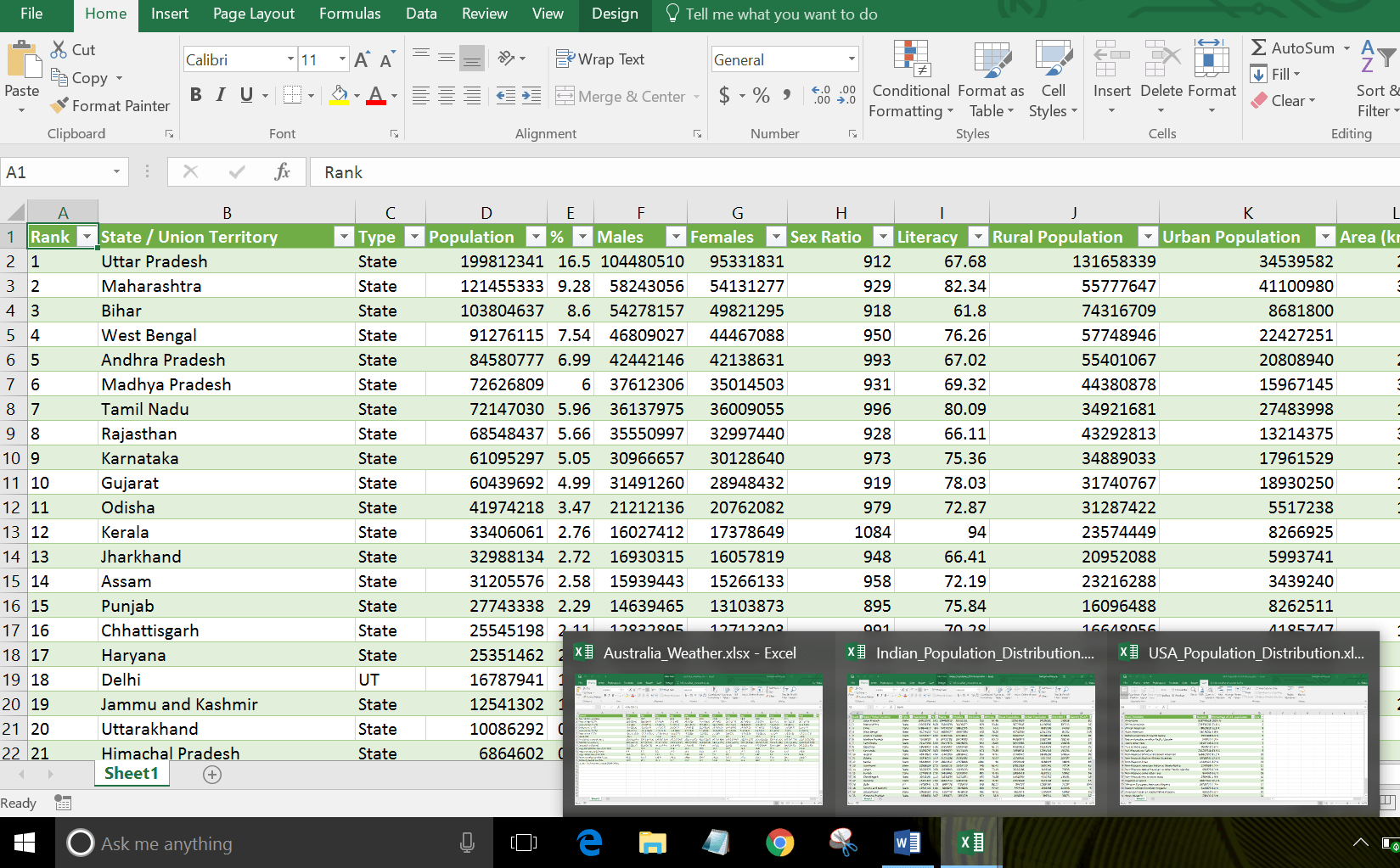 Viewing And Scrolling Multiple Excel Workbooks At The Same Time