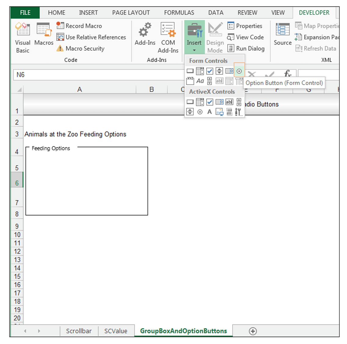 How To Use Form Controls In Excel