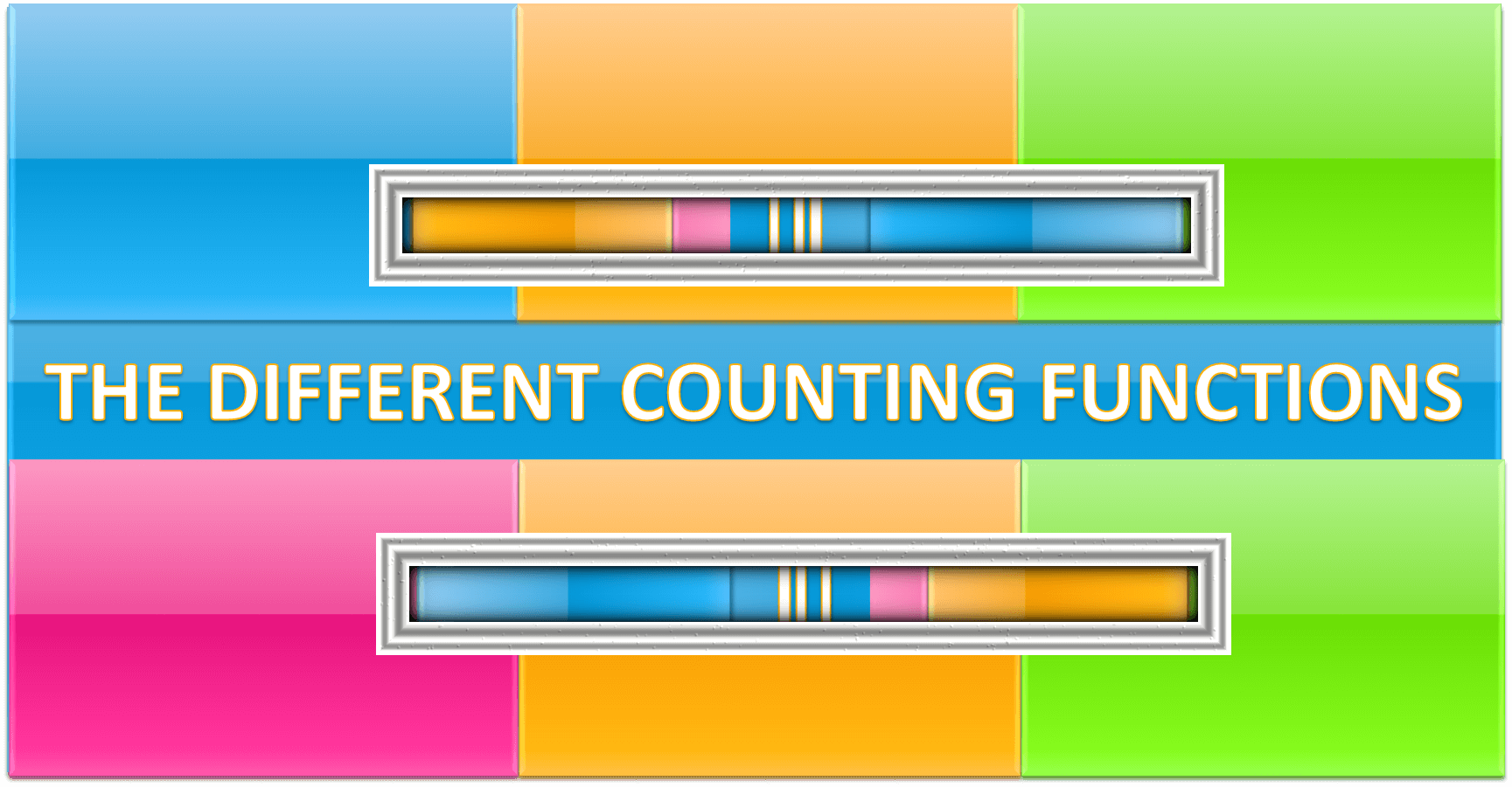 The Different Ways Of Counting In Excel