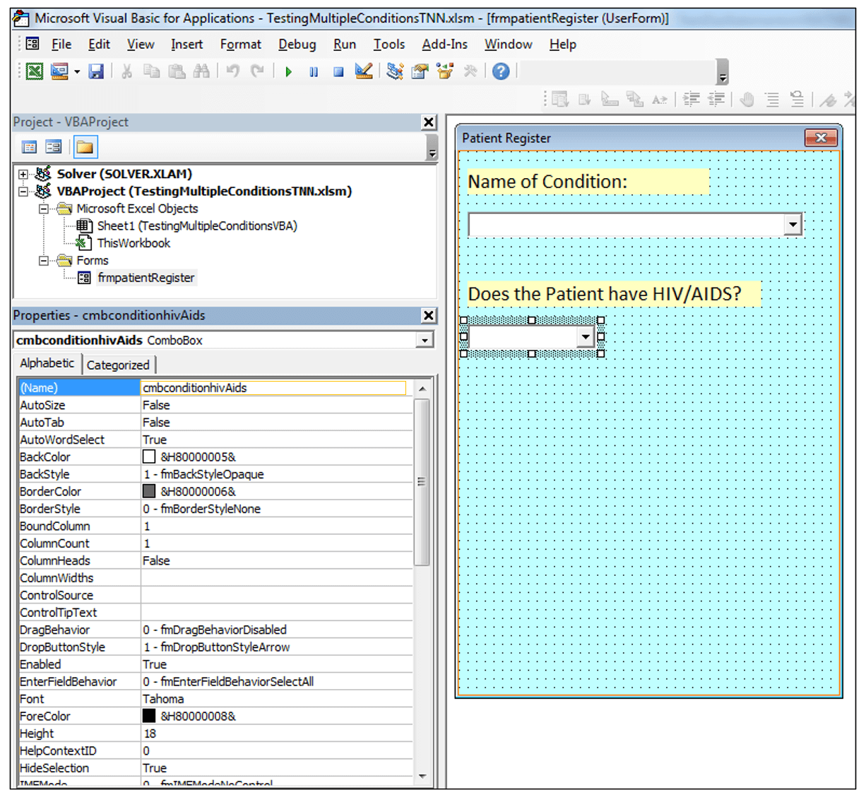 If Amp And Functions In Excel Vba To Test Multiple