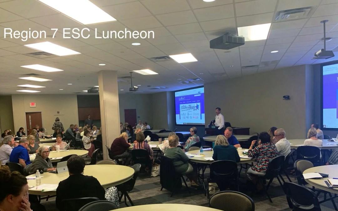 Region 7 ESC Luncheon