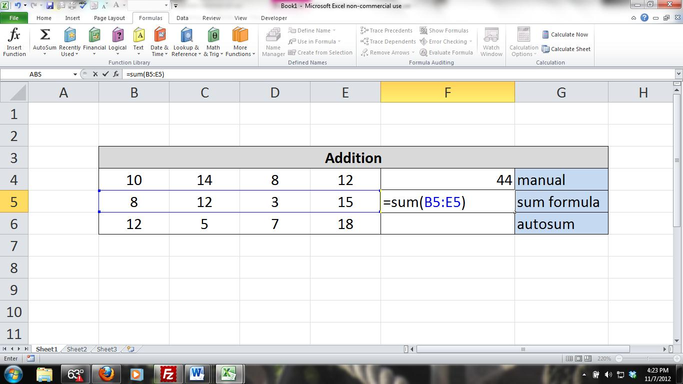 Excel For Noobs Tutorial How To Use And Combine Formulas