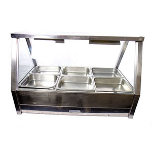 Electric Hot Food Bars 4, 6 and 8 tray