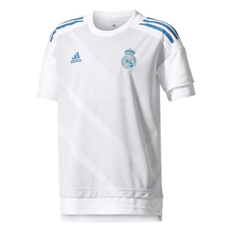 adidas Real Madrid Home Junior Pre-Match Jersey 2017/2018 ...