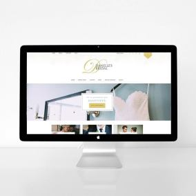 Bridal Boutique Website Design