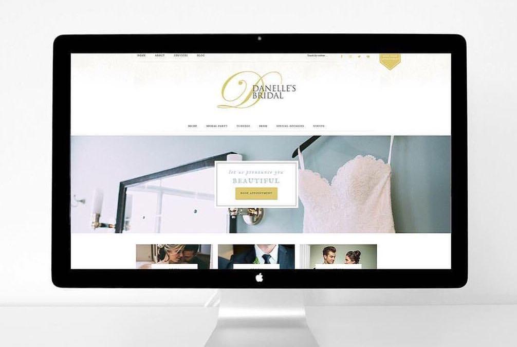Bridal Boutique Website Design