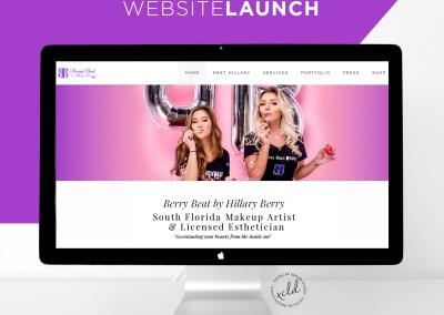 BerryBeatBeauty website 1 - Portfolio