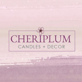 Natural Candle Logo Design - Home