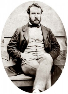 """Jules Verne. This older image was photographed by Flickr.com user """"paukrus"""" on Oct. 31, 2009. Creative Commons License"""