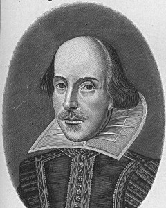 William Shakespeare, date and artist unknown