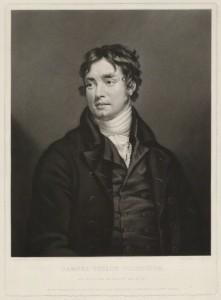 Samuel Taylor Coleridge, as a dashing figure in 1840.